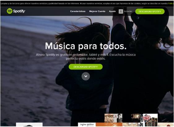 Web Spotify