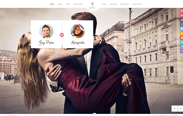 gittys-wedding-wordpress-theme