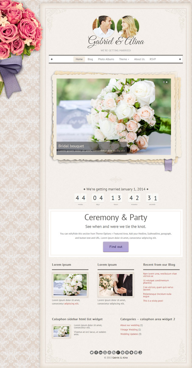 vintage-wedding-theme
