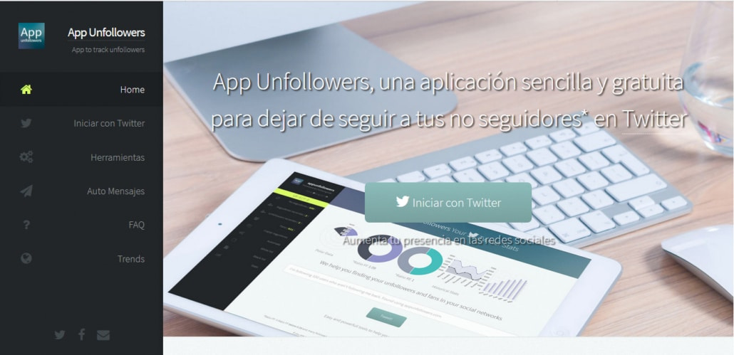 App Unfollower Home